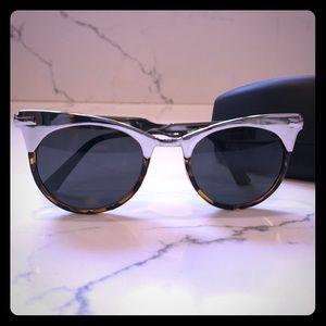 Spitfire silver & tortoise sunglasses